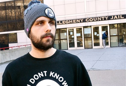 Daniel Muessig Pittsburgh criminal lawyer Daniel Muessig, standing outside the Allegheny County Jail, has a YouTube ad that has gone viral.