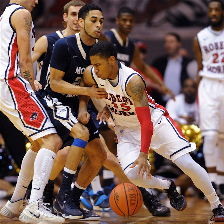 anderson0321 Robert Morris guard Karvel Anderson leads the Colonials into tonight's second-round NIT matchup at Belmont.
