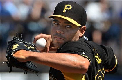 20140313pdPiratesSports08-10 Right-hander Jeanmar Gomez is out of minor league options and his name has come up in trade rumors.