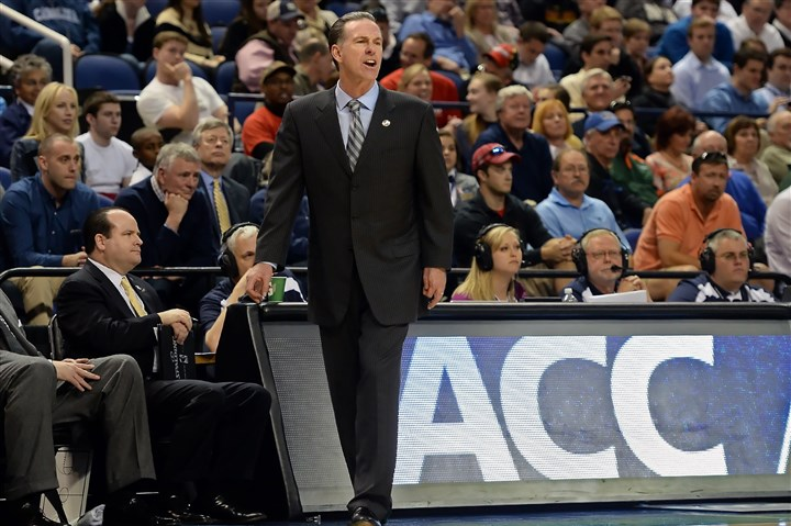 Jamie Dixon Pitt head coach Jamie Dixon watches as his team takes on Wake Forest earlier this month.