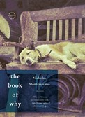 "Ralph the female German sShepherd on the cover of ""The Book of Why"" by Nicholas Montemarano."
