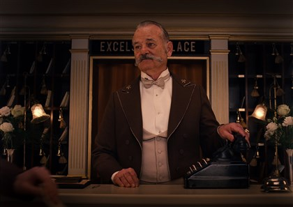 "20140321GrandBudapestHotel5-1 Bill Murray stars in ""The Grand Budapest Hotel."""
