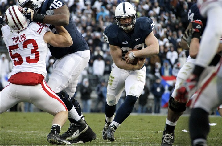 Zach Zwinak led Penn State in rushing Zach Zwinak led Penn State in rushing with 989 yards last fall.