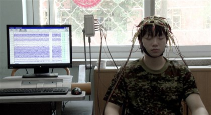 "20140318howebjunkie0321mag An Internet-addicted teen undergoes treatment at a rehab center near Beijing, China, in ""Web Junkie."""