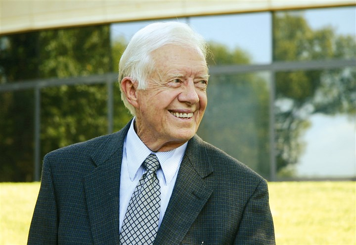 "20140323jimmycarter Jimmy Carter's new book ""is designed to shock us into the reality that the social creation of gender roles is not 'the divine will.' """