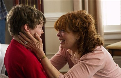 "Resurrection1 Landon Gimenez and Frances Fisher in ABC's ""Resurrection."""
