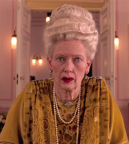 "GrandBudapestHotel1 Tilda Swinton in ""The Grand Budapest Hotel."""
