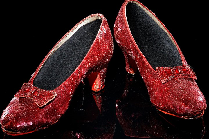 "Ruby slippers Richard Kurin will discuss the artifacts that define our common heritage, including Dorothy's ruby red slippers from the ""Wizard of Oz."""