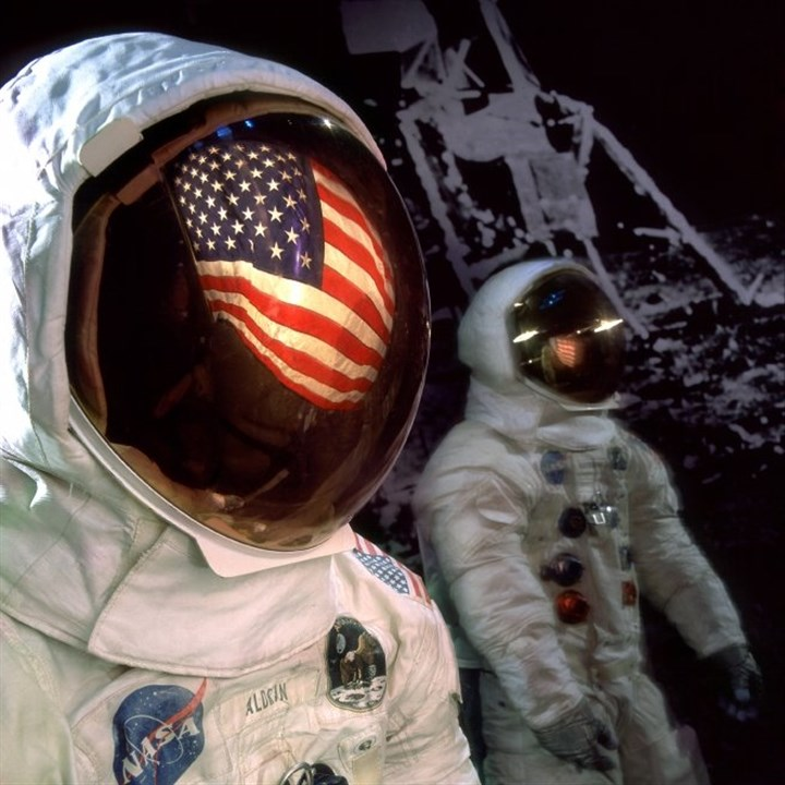 spacesuit Neil Armstrong's Apollo 11 spacesuit is among the many artifacts that Richard Kurin of the Smithsonian will discuss during a talk at the Heinz History Center on Saturday.