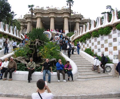 Park Guell Landing in Barcelona? Dump your suitcases with the concierge and take a quick walk to Park Guell, which is among the architectural designs of Antoni Gaudi.