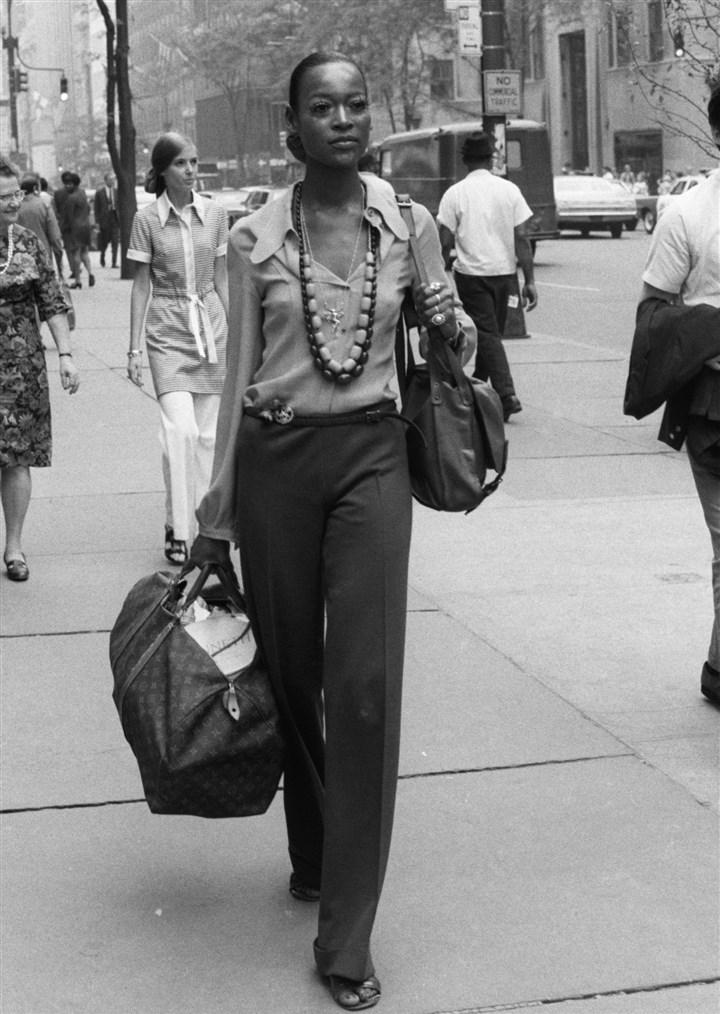 Naomi Sims in New York in 1969 Naomi Sims in New York in 1969.