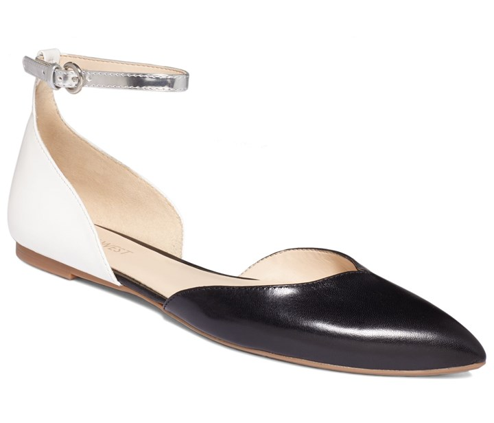 Sundew flats by Nine West Two-piece flats: Sundew flats by Nine West; $69 at Macy's.