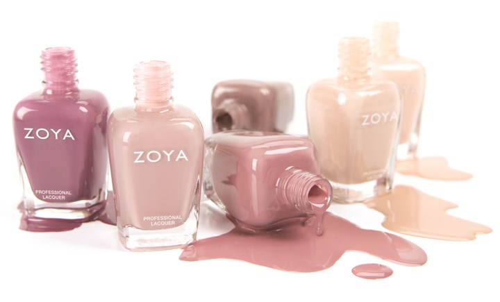Naturel collection by Zoya Neutral hue nail polish: Naturel collection by Zoya; $9 per bottle or $54 for a sampler of six polishes at www.zoya.com.