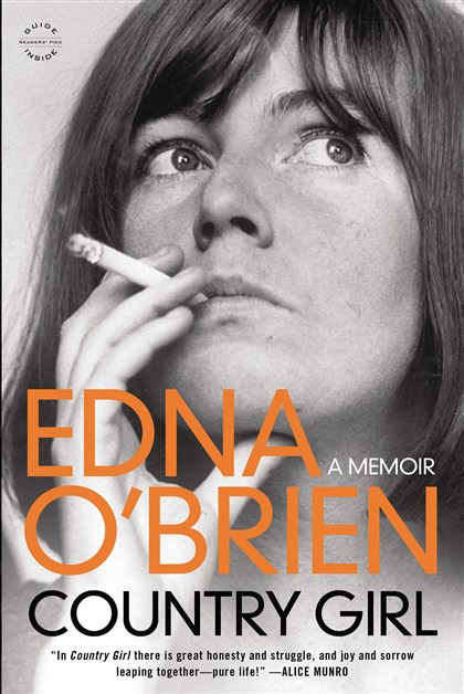 "20140402OBrien2-1 ""Country Girl: A Memoir"" by Edna O'Brien."
