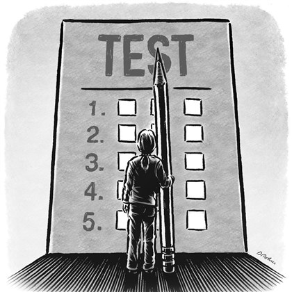 Illustration: Standardized test