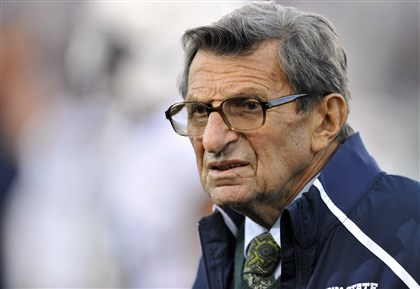 Joe Paterno Former Penn State football coach Joe Paterno.