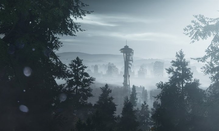 "20140326HOSecondSon Seattle in the video game ""InFamous Second Son."""
