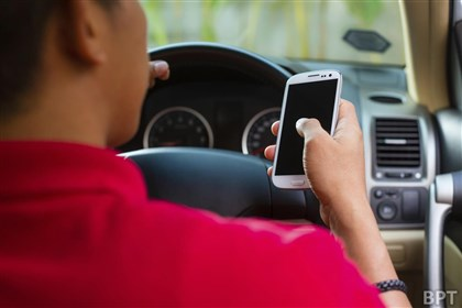 Texting while driving Police typically cannot tell whether drivers are texting or dialing a phone.