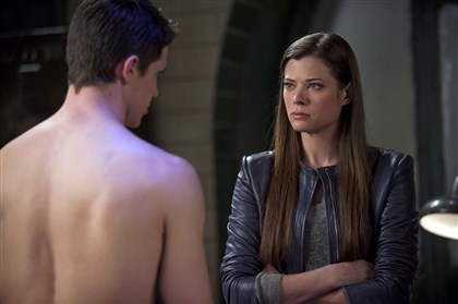 "The Tomorrow People On ""The Tomorrow People,"" viewers will often find Robbie Amell's Stephen Jameson shirtless. Peyton List portrays Cara Coburn on The CW show."
