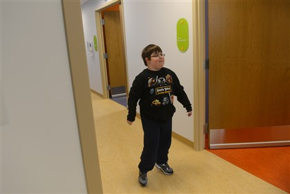 Billy Ellsworth goes to Children's Hospital of Pittsburgh Billy Ellsworth goes to Children's Hospital of Pittsburgh of UPMC weekly for an infusion of eteplirsen.