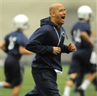 If a high school prospect ever feels like James Franklin is watching his Twitter, it's probably because he is.