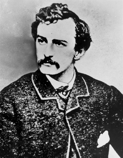 "John Wilkes Booth John Wilkes Booth — He was a ""very hands-on person,"" as shown by the flat top of the letter ""r."""