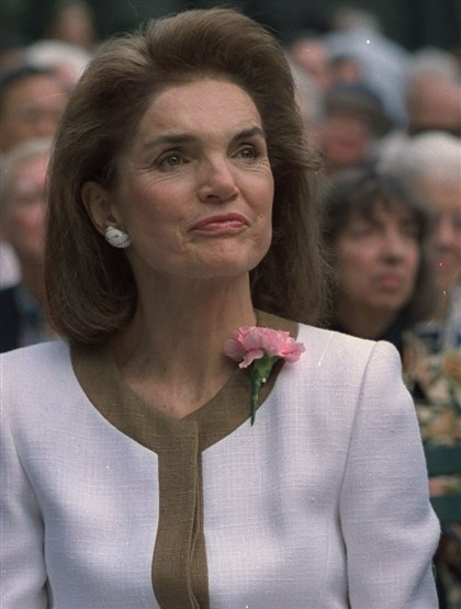 "Jacqueline Kennedy Jacqueline Kennedy — Large upper loops in her writing showed ""her creative mind was constantly filled with big ideas."""