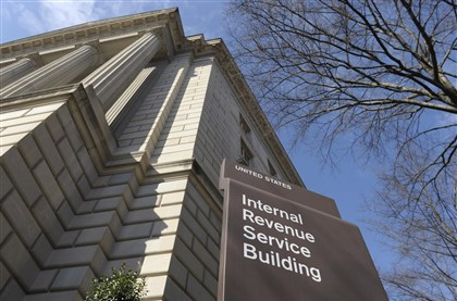 Internal Revenue Service building in Washington, D.C. The Internal Revenue Service building in Washington, D.C.