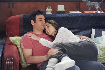 "Josh Radnor and Cristin Milioti Ted (Josh Radnor) finishes telling his kids the story of how he met their mother (Cristin Milioti) on the one-hour finale of ""How I Met Your Mother,"" airing from 8 to 9 p.m. Monday on CBS."