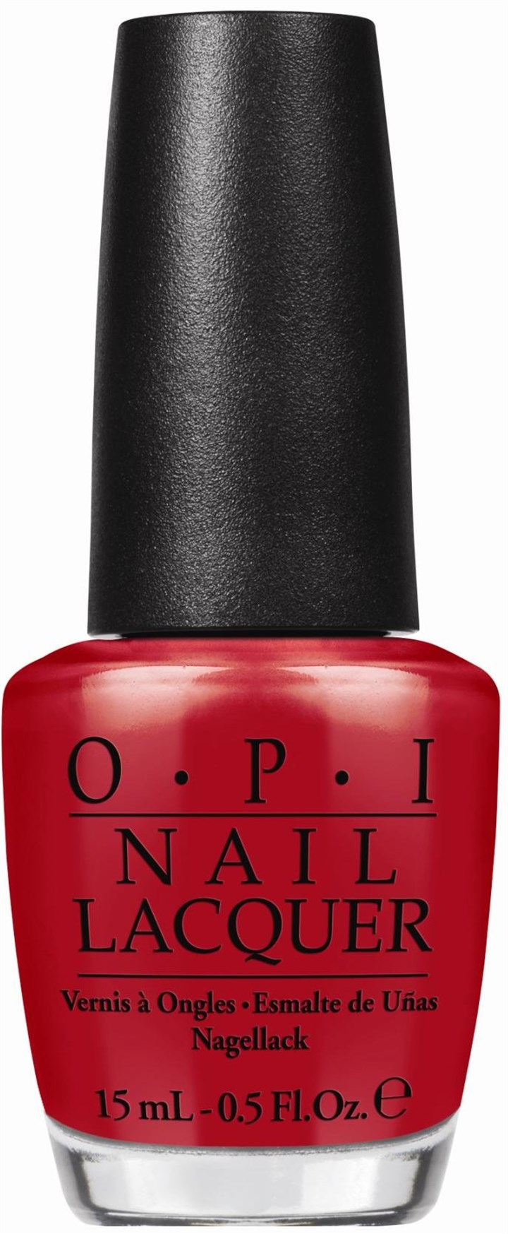 ShortSTOP-1 by OPI Short-STOP rich creme red from MLB Collection by OPI, $9.00.