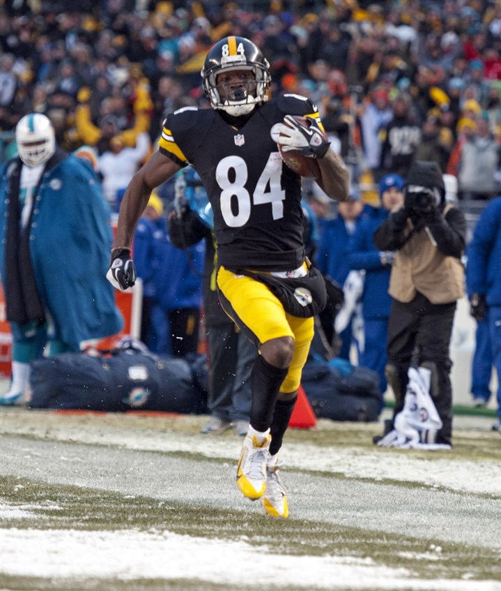 returner Antonio Brown Kicker Shaun Suisham along with returner Antonio Brown, shown here, were among the few special teams bright spots in 2013. Brown made the Pro Bowl as both a receiver and a punt returner.