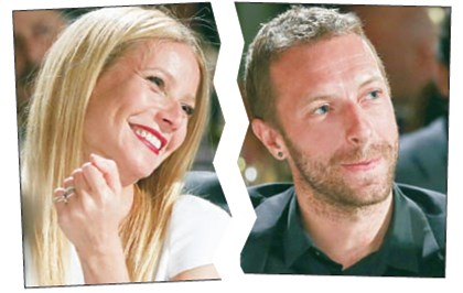 Gwyneth Paltrow and Chris Martin Actress Gwyneth Paltrow and her soon-to-be-former husband, Chris Martin.