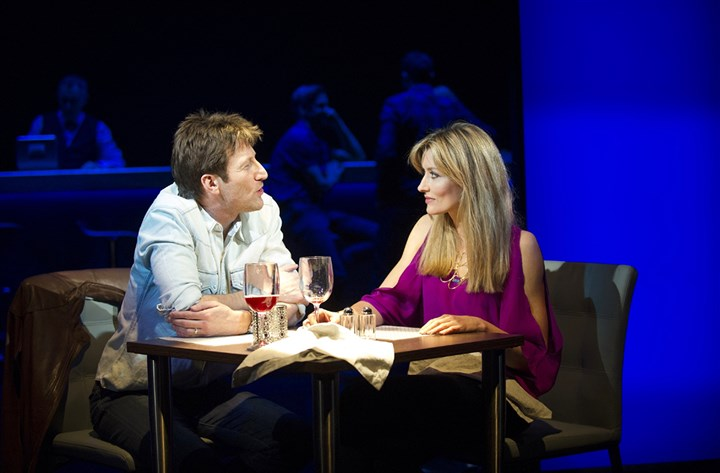 "Dan Gallagher and Natascha McElhone  Dan Gallagher and Natascha McElhone play a couple embarking on an affair in ""Fatal Attraction"" at London's Theatre Royal."