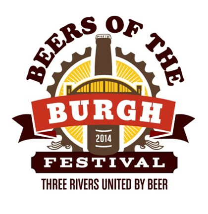 "20140115BeersoftheBurghfood ""Beers of the Burgh"" festival logo."