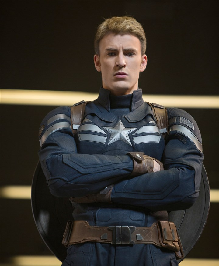 "Captain America: The Winter Soldier Chris Evans stars in ""Captain America: The Winter Soldier."""