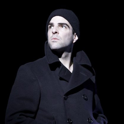 "Zachary Quinto stars as Tom Wingfield Zachary Quinto stars as Tom Wingfield in the Broadway production of ""The Glass Menagerie."""
