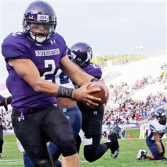 College Athletes NLRB Former Northwestern quarterback Kain Colter is leading the Northwestern University football team's push for unionization.