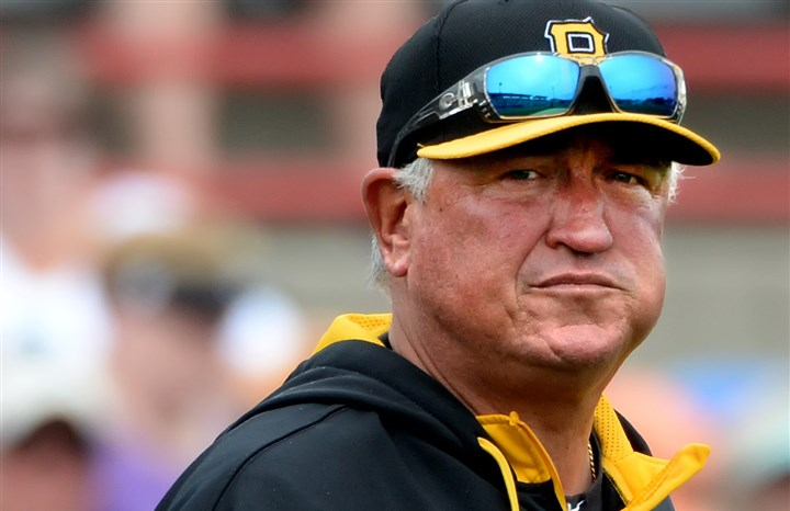 hurdlemug0406-2 Pirates manager Clint Hurdle