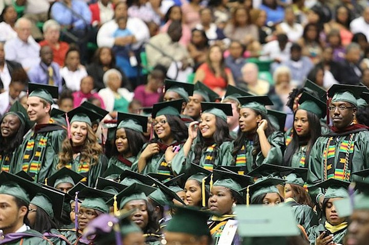 famu0407 Florida A&M University graduation, May 2013. (That's me, all the way on the left.)