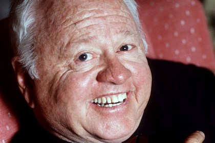 Obit Mickey Rooney Mickey Rooney, shown in May 1987, was a Hollywood legend whose career spanned more than 80 years, He died Sunday at 93.