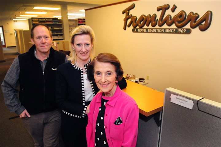 fitzgeralds frontiers travel Mike, Mollie and Susie Fitzgerald of Frontiers Travel developed a niche clientele.