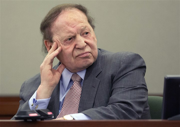 Republicans Internet Gambling Billionaire Sheldon Adelson