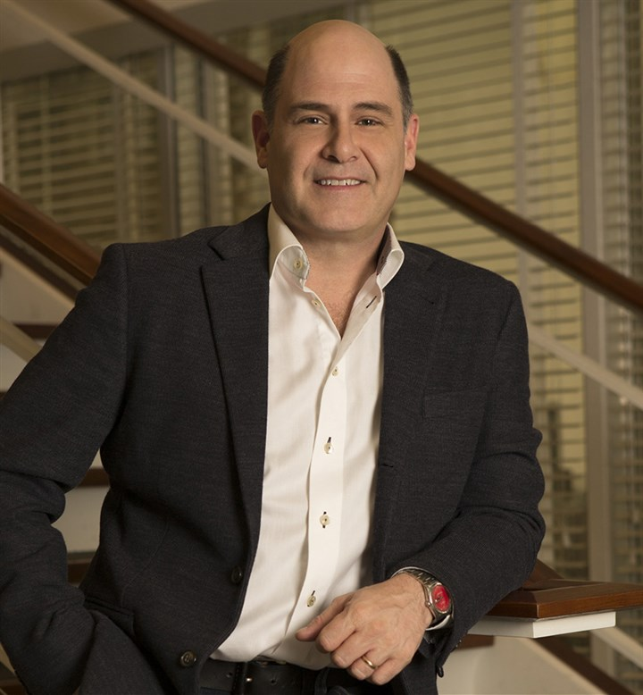 "20140411HOMadMen3-2 ""Mad Men"" creator Matthew Weiner."