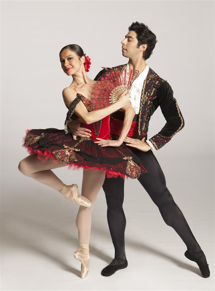 "20140407DonQuixote3-1 Christine Schwaner and Alexandre Silva will be among the performers of PBT's ""Don Quixote."""