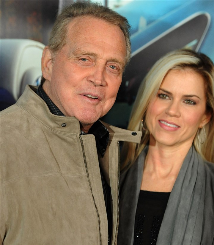 20140407LeeMajors Actor Lee Majors and Faith Majors in 2011.