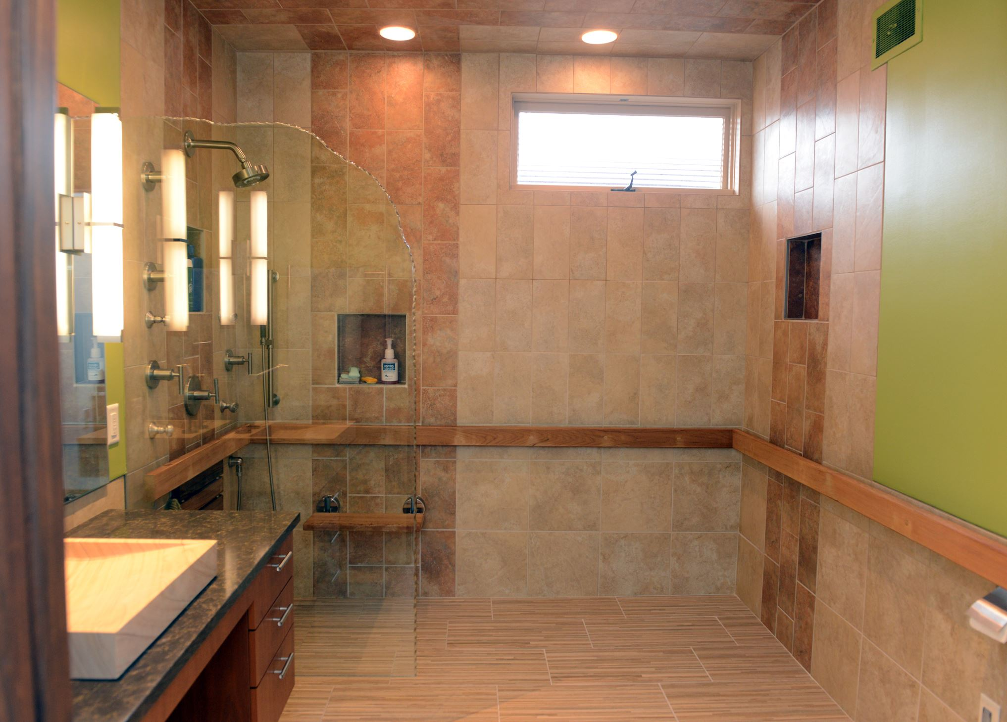 39 Wet Room 39 Bath Renovation Allows Couple To Age In Place And In Style