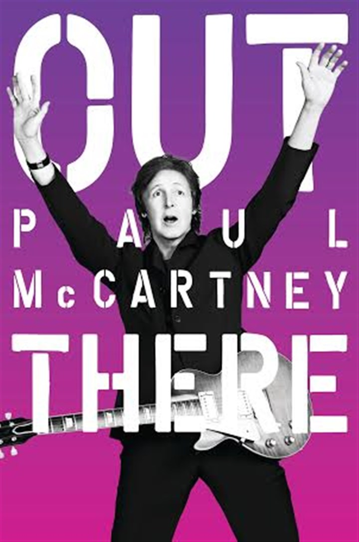 "McCartney tour poster 'Out There' The former Beatle is on the ""Out There"" tour."