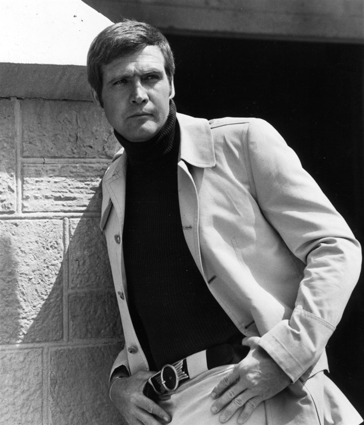 "20140408LeeMajorsMag Lee Majors in ""The Six Million Dollar Man"" Circa: 1974."