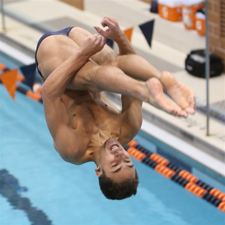 201400403hoKolodCzspts.jpg University of Virginia junior JB Kolod, a graduate of Fox Chapel Area, recently earned All-America honors in the 3-meter and platform dives at the NCAA swimming and diving championships.
