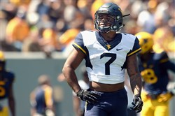 This season, West Virginia running back Rushel Shell could